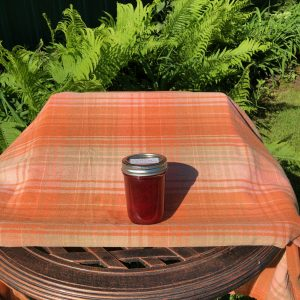 Strawberry Rhubarb Jam (Size: 8 oz jar)